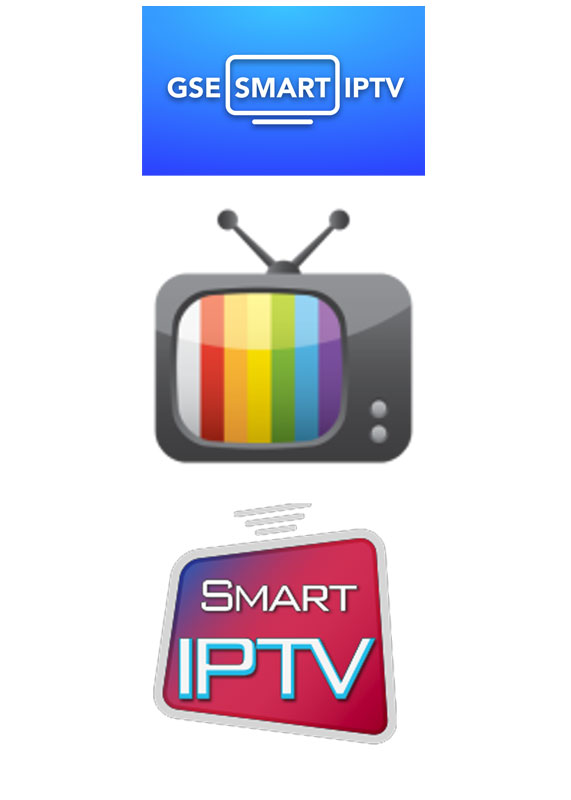 logotypes for iptv - smart iptv, extreme iptv och smart stb iptv